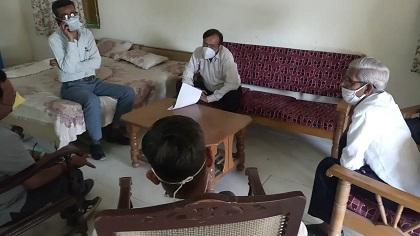 विधायक संयम लोढा ने उपखंड स्तरीय अधिकारीयों की ली समीक्षा बैठक