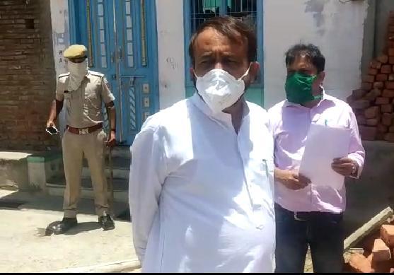 विधायक सयंम लोढा ने पालड़ी एम गाँव का किया दौरा जाने हालात और अधिकारियों को दिए आवश्यक निर्देश